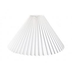 Alle str. lampeskærme Plissé svøb Hvid Plastik
