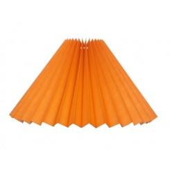 Plissé 13x25x39 Orange bomuld T-stel
