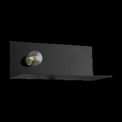 Ciglie væglampe H14 med USB lader