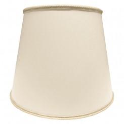 Lampeskærm Ret 17x20x24 Creme chintz med agraman L-E27