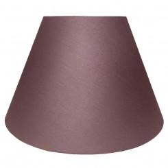 alle str. lampeskærme skrå model i mørke brun bomuld