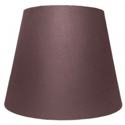 alle str. lampeskærme Ret model i mørke brun bomuld