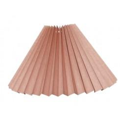 alle str. i Plissé lampeskærm gammel rosa bomuld