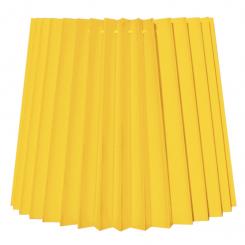 alle str. i Plissé Cylender model gul bomuld