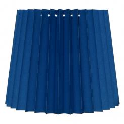 alle str. i Plissé Cylender model kobolt blå bomuld