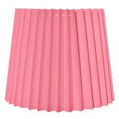 alle str. i Plissé Cylender model pink bomuld