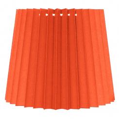 alle str. i Plissé Cylender model orange bomuld