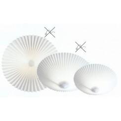 A+B TRIO væg og loftlampe Hvid (løse betræk)