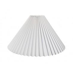 Plissé 13x27x43 Hvid plastik L.