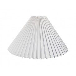 Plissé 13x27x43 Hvid plastik TNF-Stel