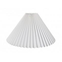 Plissé 13x25x39 Hvid plastik BR