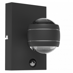 Sesimba 1 LED med sensor væglampe H19,5