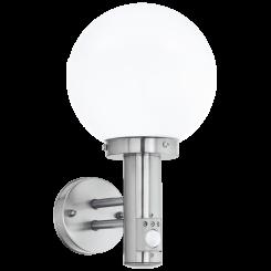 Nisia væglampe med sensor H34,3