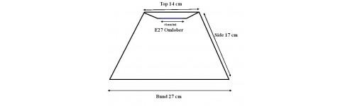 Lampeskærme Top T-Stel til fatning med omløber ring