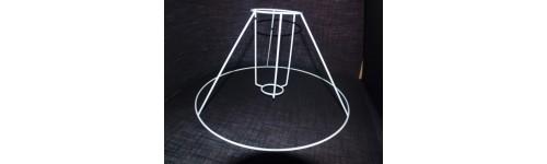 Stativ til plissé lampeskærm